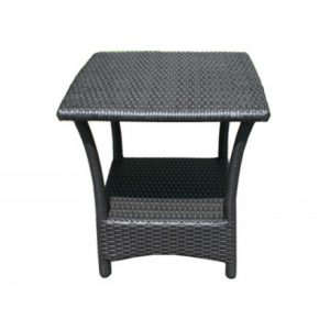 Luna Wicker Deep Seating Side Table