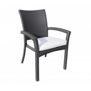 Chorus Wicker Deep Seating Dining Chair