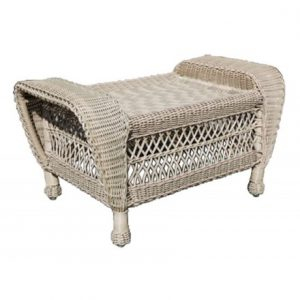Horizon Wicker Ottoman