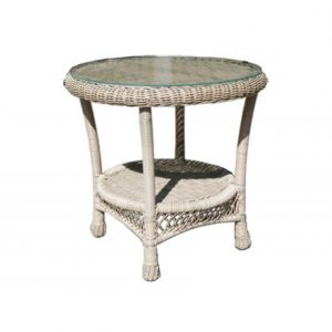 Horizon Wicker Side Table