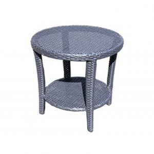 Luna Wicker Deep Seating Tea Table