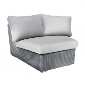 Chelsea Modular Wicker Deep Seating Wedge Corner Module