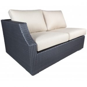 Chelsea Modular Wicker Deep Seating Double Left Module