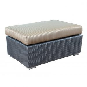 Chelsea Modular Wicker Deep Seating Side Ottoman