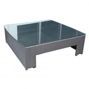 Chelsea Wicker Deep Seating Coffee Table