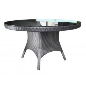 Solano Wicker Deep Seating 54 inch Dining Table