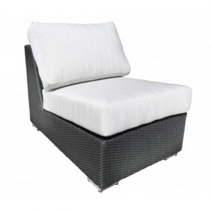 Chorus Modular Wicker Deep Seating (Straight Slipper)