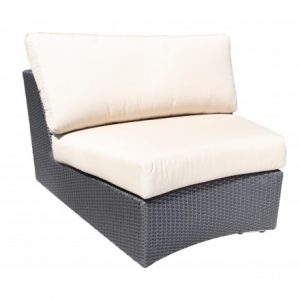 Chorus Modular Wicker Deep Seating (Curved Slipper)