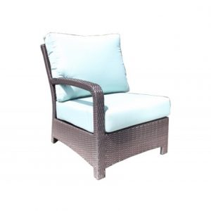 Solano Modular Wicker Deep Seating Left Module