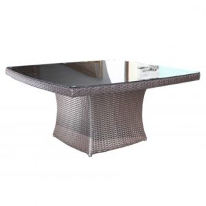 Solano Wicker Deep Seating Square Coffee Table