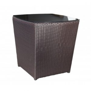Solano Wicker Deep Seating Side Table