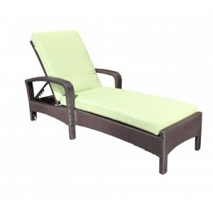 Solano Wicker Deep Seating Chaise Lounge