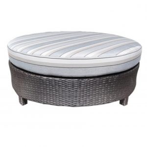 Flight Wicker Deep Seating Side Ottoman