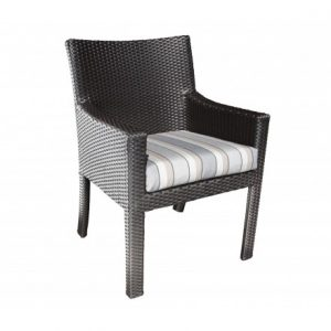Cloud Wicker Deep Seating Dining Chair