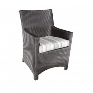 Flight Wicker Deep Seating Dining Chair