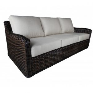 Nevada Wicker Deep Seating Sofa