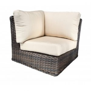 Nevada Modular Wicker Deep Seating Corner Module