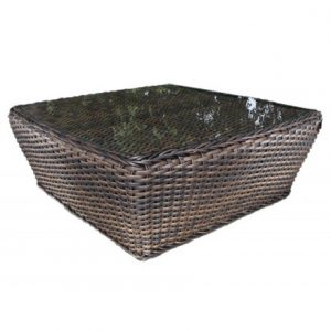 Nevada Wicker Deep Seating Coffee Table