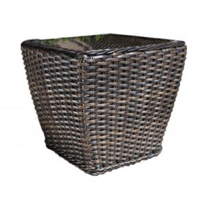 Nevada Wicker Deep Seating Side Table