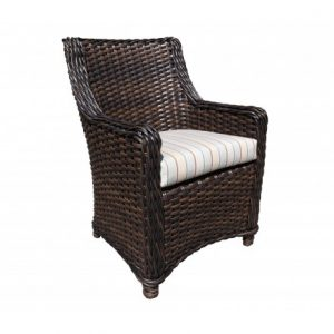 Nevada Wicker Deep Seating Dining Chair