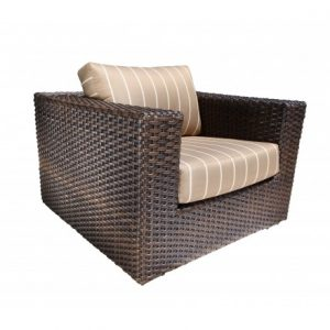 Louvre Wicker Deep Seating Chair