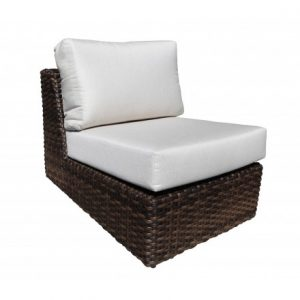 Louvre Modular Wicker Deep Seating -Straight Slipper