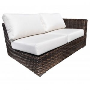 Louvre Modular Wicker Deep Seating Right Module