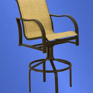 99675 Caribbean Swivel Bar Stool