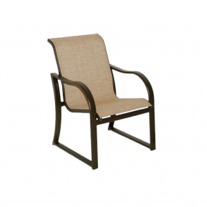Caribbean Sled Base Dining Chair