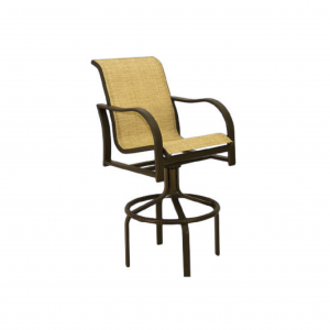 Caribbean Swivel Bar Stool