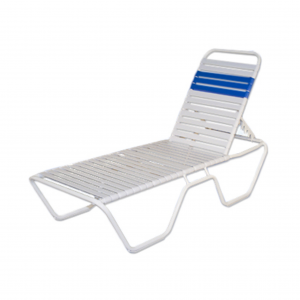 Classic Strap Chaise Lounge 16""