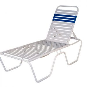 "Largo Strap 14"" High Chaise Lounge"