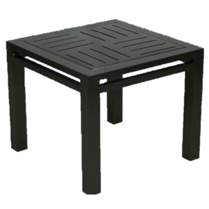 "19"" x 19"" Hermosa Boardwalk Side Table"