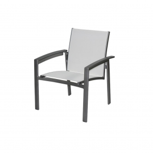 Seaside Cross Strap Dining Chair