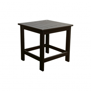 "Marine Grade Polymer 21"" Square Side Table"