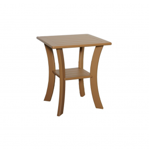 Marine Grade Polymer Double Tier Side Table