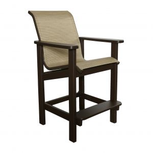 Marine Grade Polymer Bar Chair
