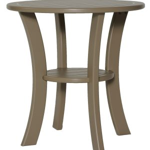 Double Tier Round Side Table