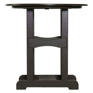 "Marine Grade Polymer 42"" Bar High Table W/ MGP Base"