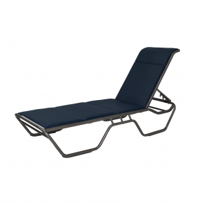 Miami Padded Sling Chaise Lounge