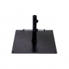 75S-BK Black Square Steel Umbrella Base