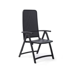 Darsena Antracite folding Chair