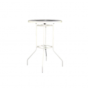 "30"" Round Bar High Table with Acrylic Top"