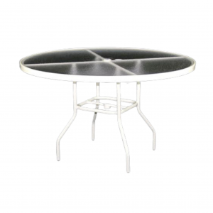 "48"" Round Dining Table with Acrylic Top"