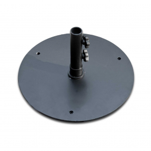 50S-BK 50 lb. Black Round Umbrella Base