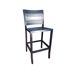 Mission Armless Bar Stool