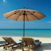 Reef 9' Manual Push up with pin Umbrella