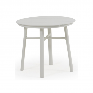 "20"" Round Slat Aluminum Table"
