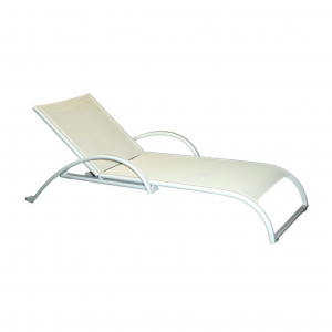 Aruba Chaise Lounge W/ Wheels