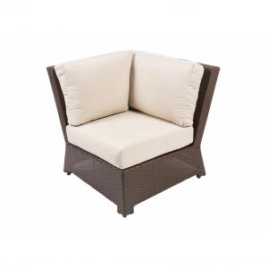 Bonita Java Armless Corner Chair